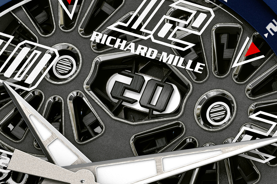 RM63-02 World Timer. Richard Mille©