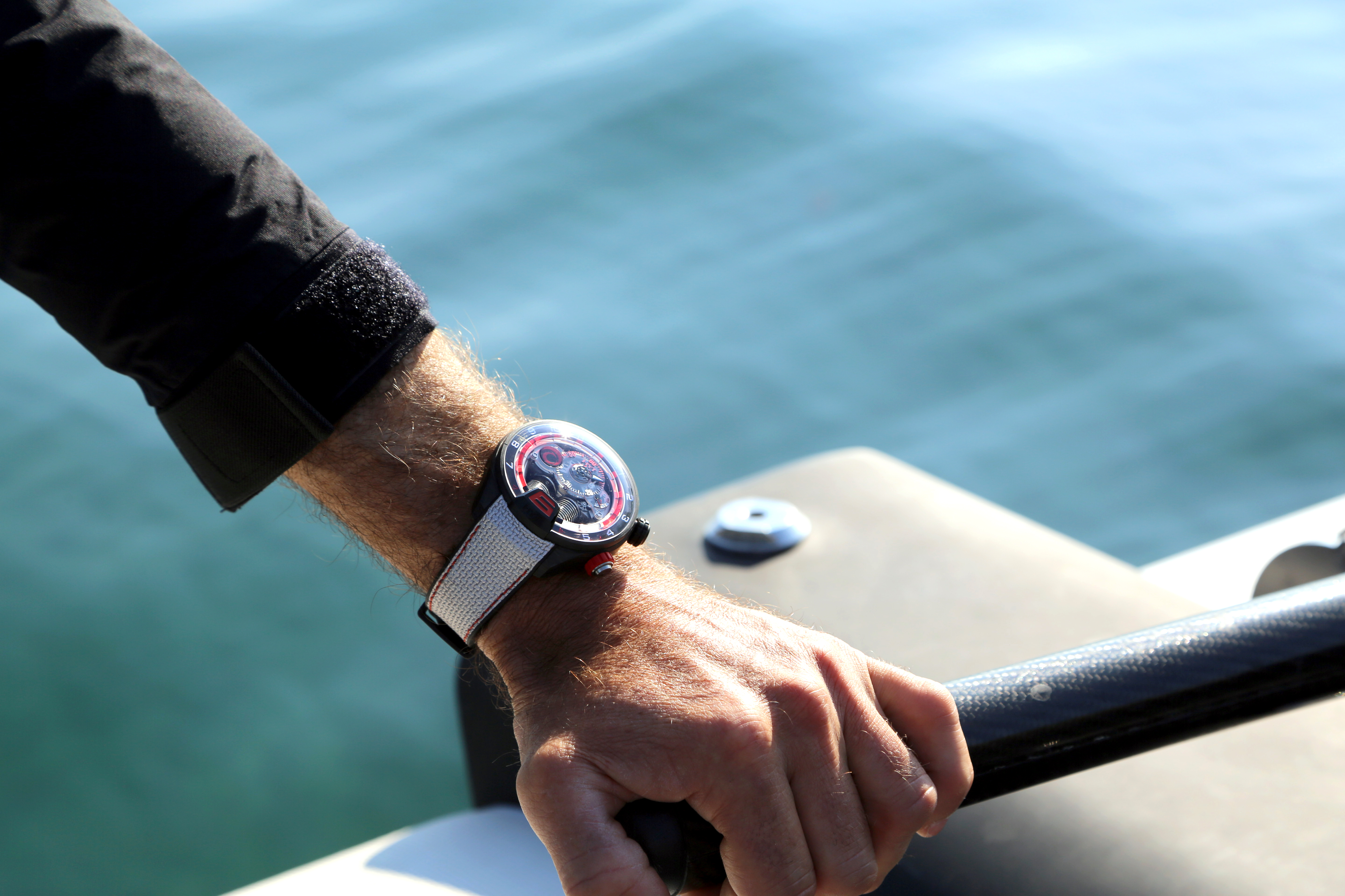 H4 Alinghi. HYT Watches©