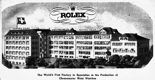 Rolex Factory. Rolex©