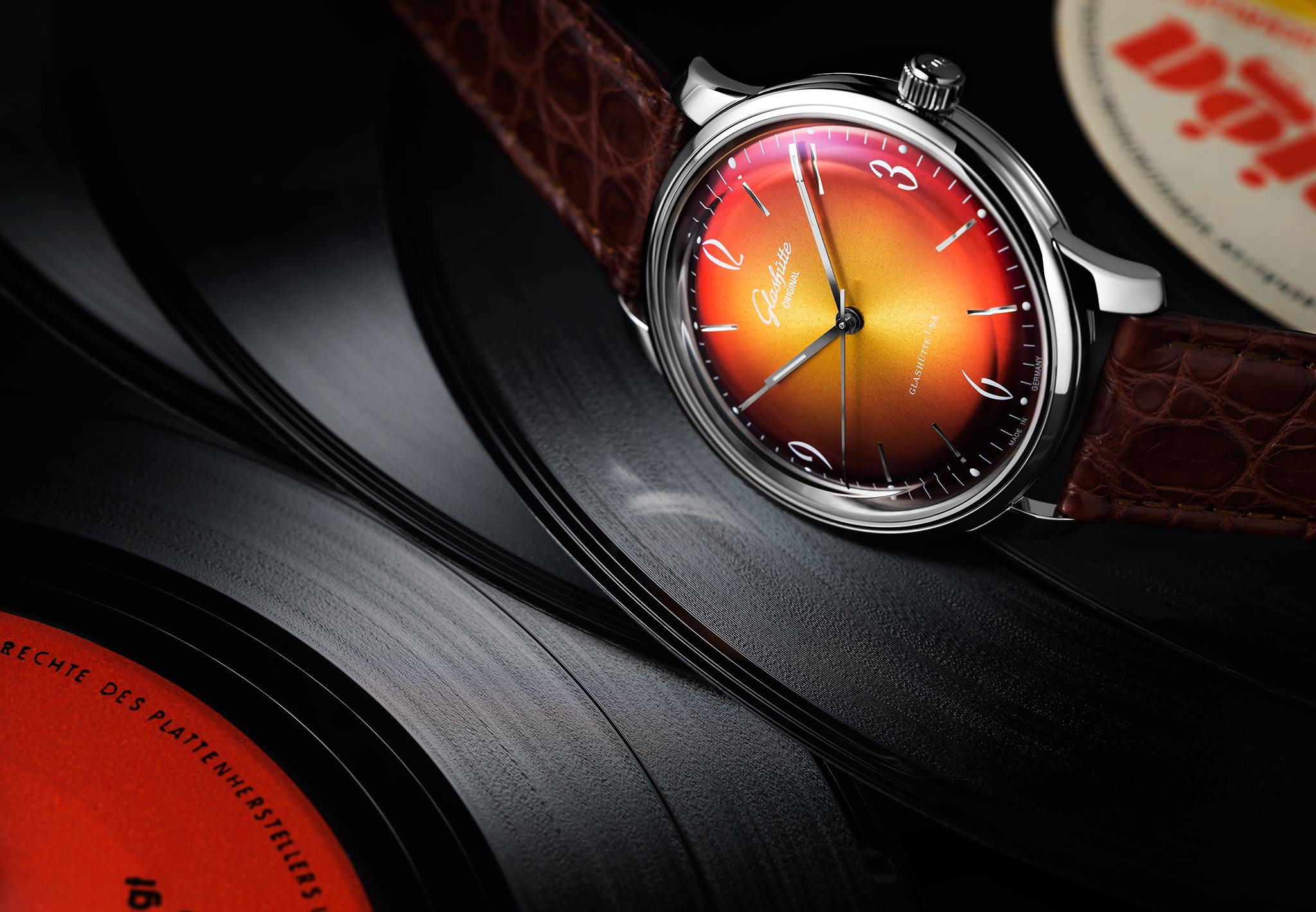 The Sixties Iconic Collection. Glashütte©