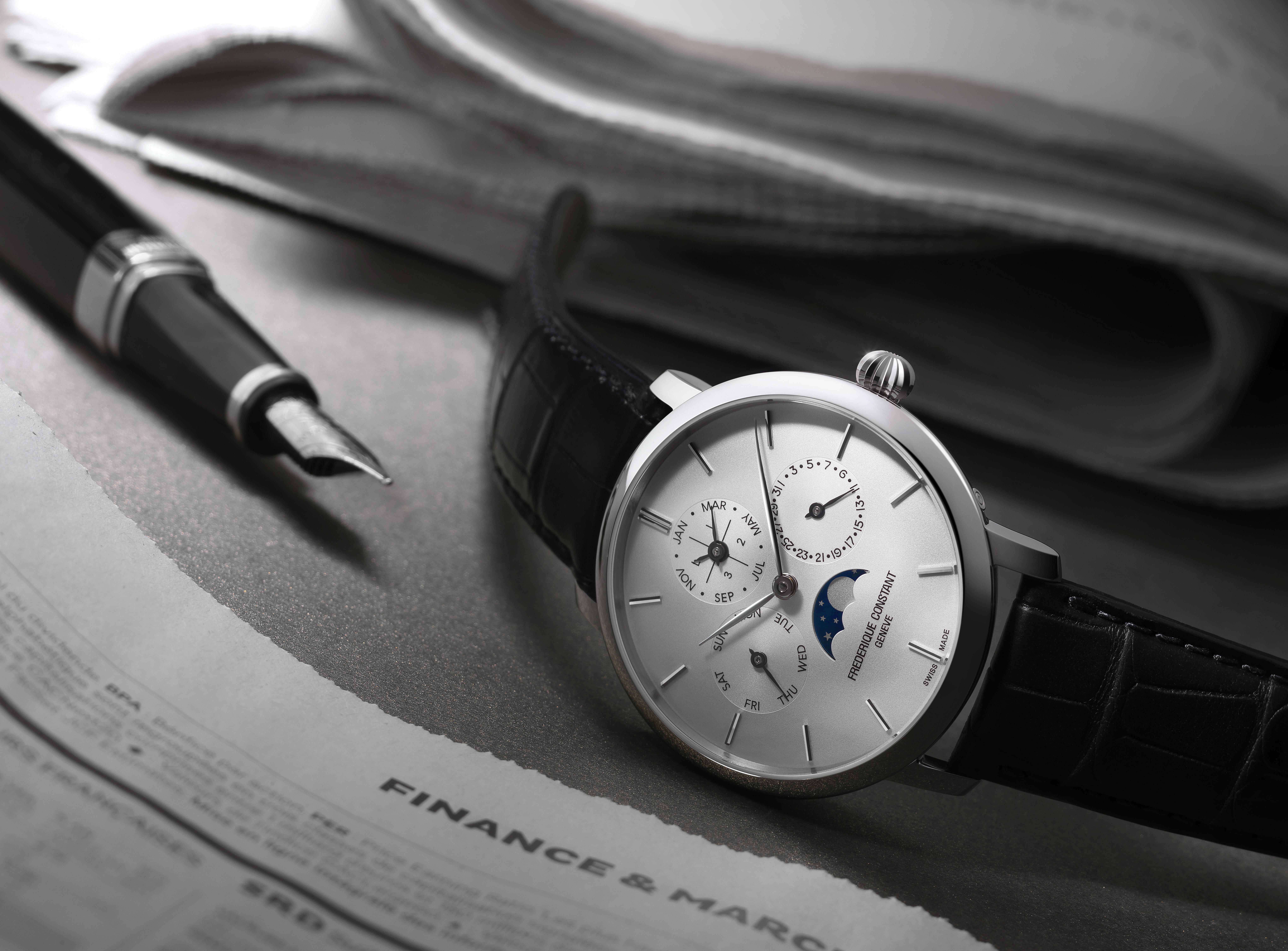 The Frederique Constant Manufacture Perpetual Calendar. Frederique Constant©