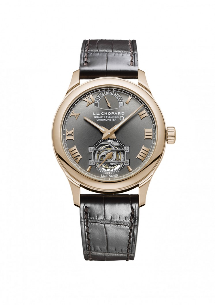 L.U.Chopard Triple Certification Tourbillon Fairmined. L.U.Chopard©