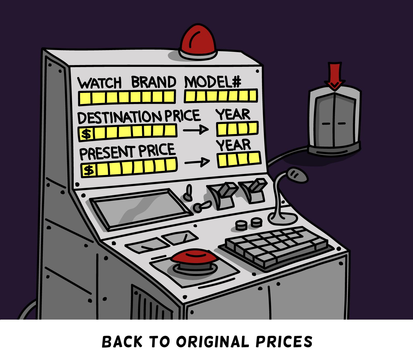 Crazy prices. Teun van Heerebeek©