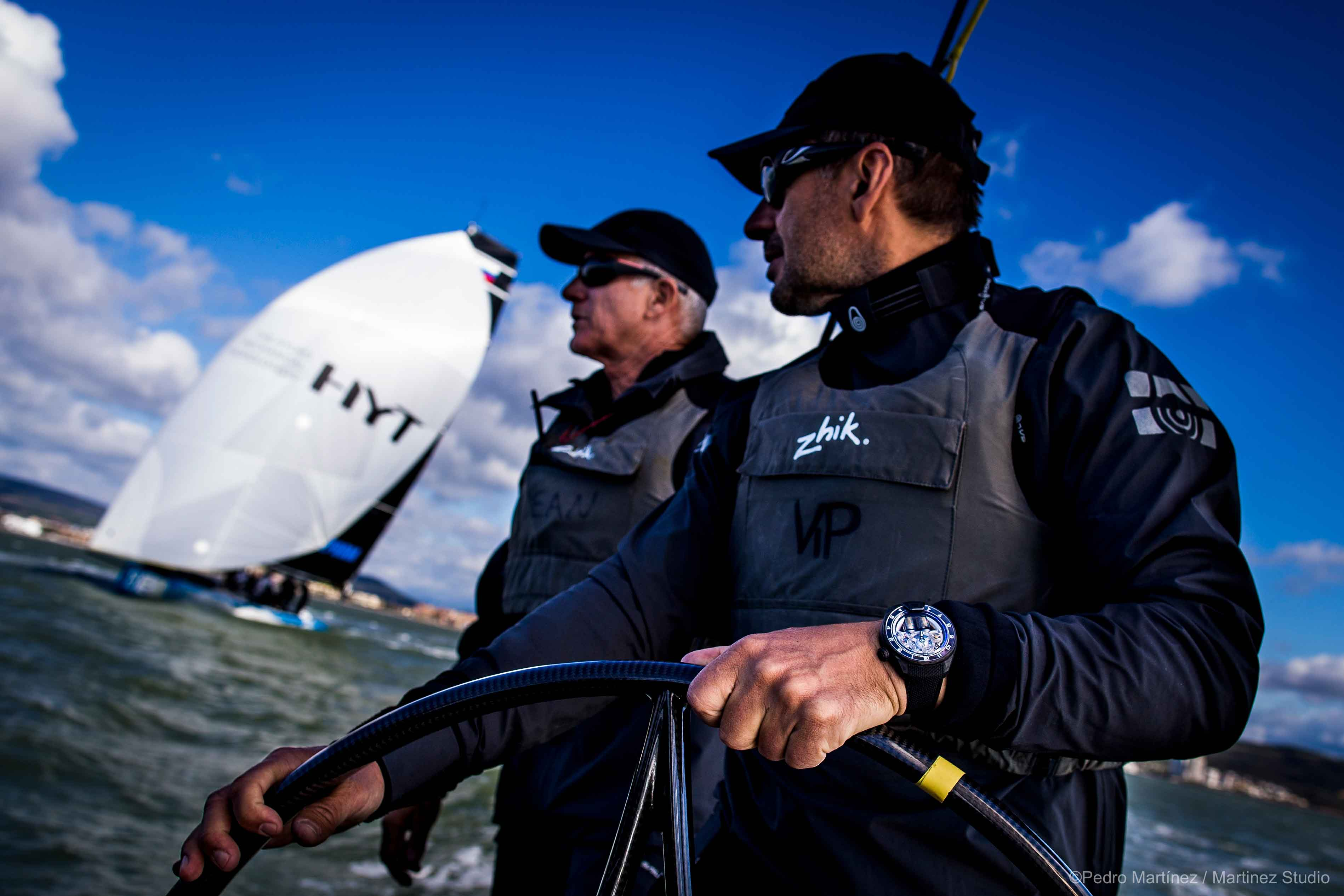 The new H4 RC44 in the perfect environment. HYT©