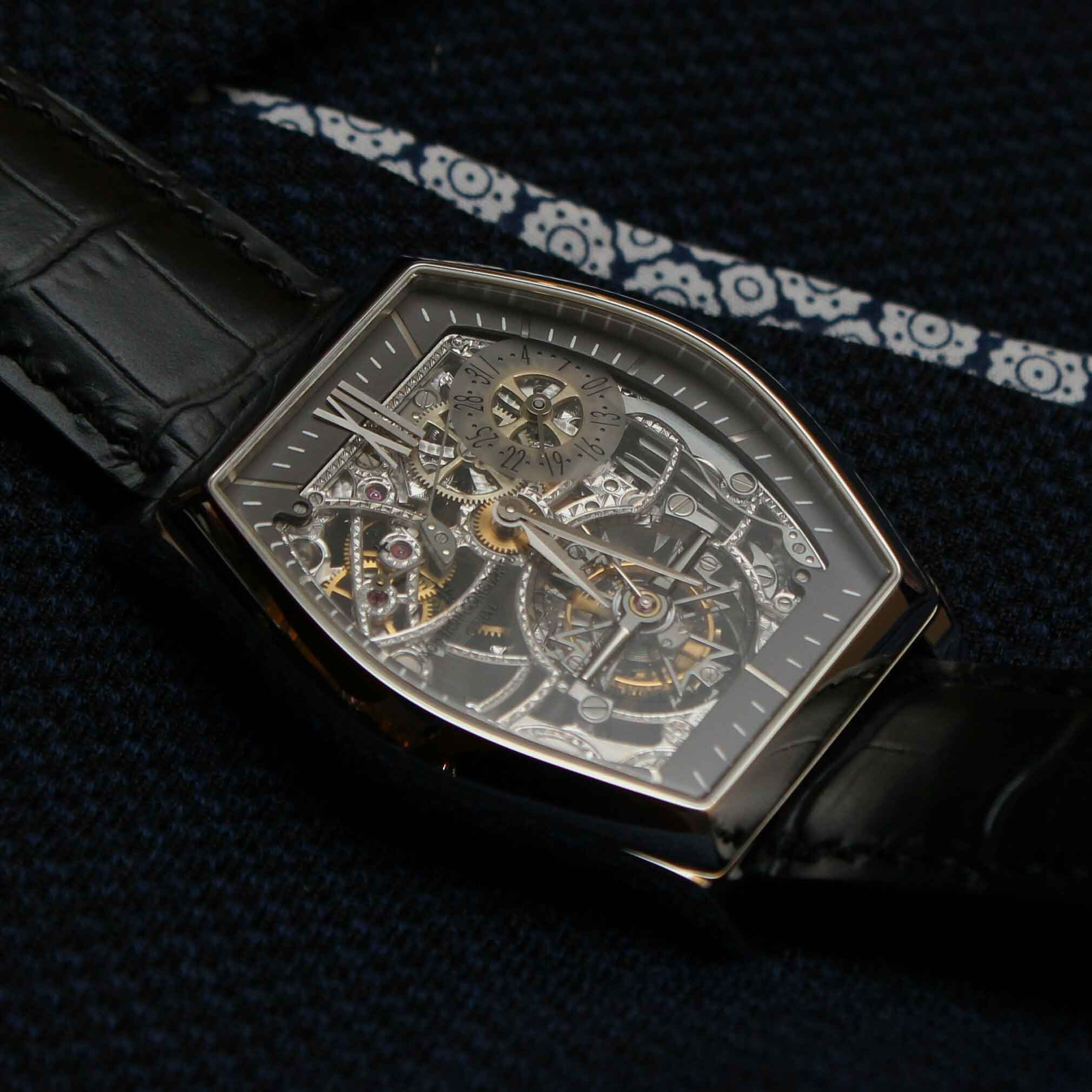 Vacheron Constantin Malte Tourbillon Openworked. Swisswatches©